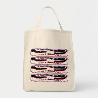 Bacon 3D Tote Bag