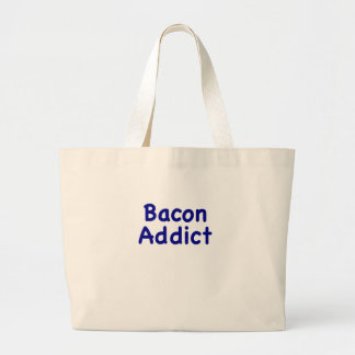 Bacon Addict Tote Bags