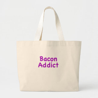 Bacon Addict Large Tote Bag