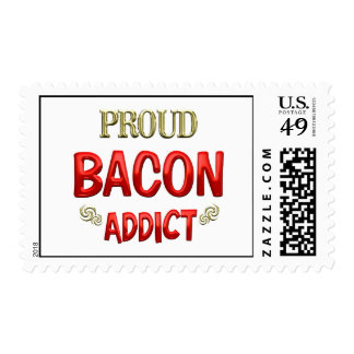 Bacon Addict Stamp