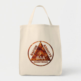 Bacon Addicts Anonymous Tote Bags