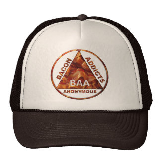 Bacon Addicts Anonymous Trucker Hat