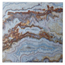 Bacon Agate Pattern Ceramic Tile