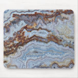 Bacon Agate Pattern Mouse Pad