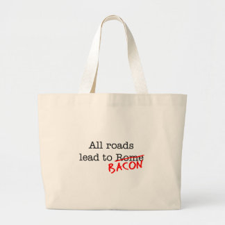 Bacon All Roads Canvas Bag