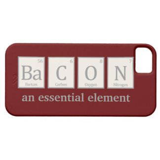 Bacon, an essential element iPhone 5 cover