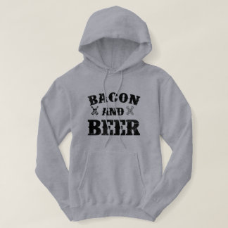 Bacon and beer hoodie