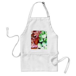 Bacon and Brussels Adult Apron