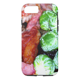 Bacon and Brussels iPhone 7 Case
