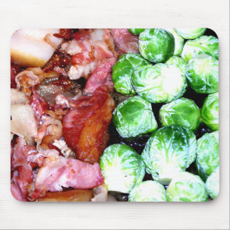 Bacon and Brussels Mouse Pad