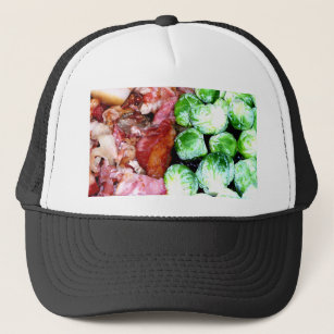 Bacon and Brussels Trucker Hat