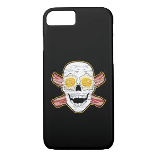 Bacon and Egg Skull iPhone 8/7 Case