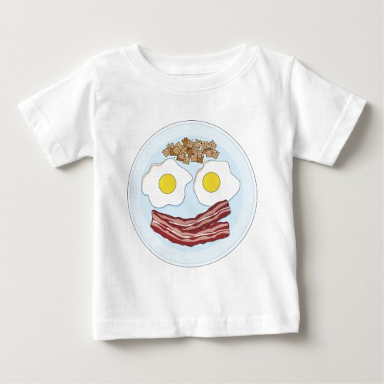 Bacon and Eggs Baby T-Shirt