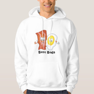 Bacon and Eggs Best Buds Hoodie