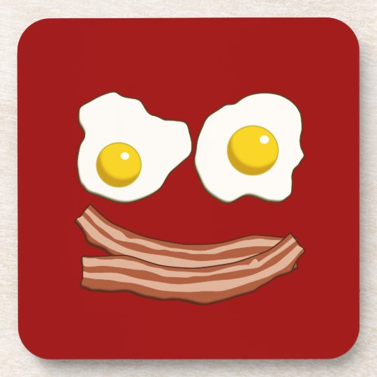 Bacon and Eggs Beverage Coaster