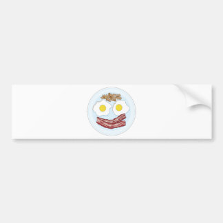 Bacon and Eggs Bumper Stickers