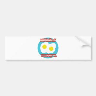 Bacon and Eggs Bumper Sticker