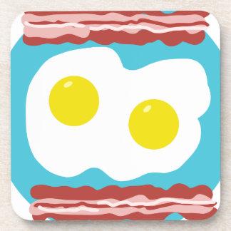 Bacon and Eggs Coaster