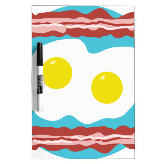 Bacon and Eggs Dry-Erase Board