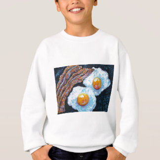 BACON AND EGGS IN A PAN SWEATSHIRT