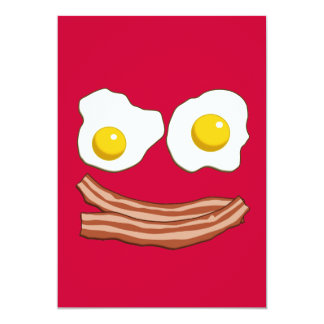 Bacon and Eggs Invitation