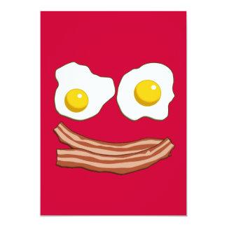 Bacon and Eggs Invitation