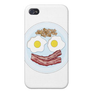 Bacon and Eggs iPhone 4 Covers