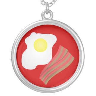 Bacon and Eggs Necklace