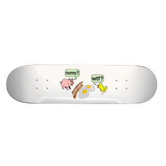 Bacon And Eggs Nightmare Skateboard