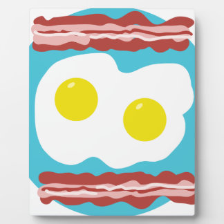 Bacon and Eggs Plaque