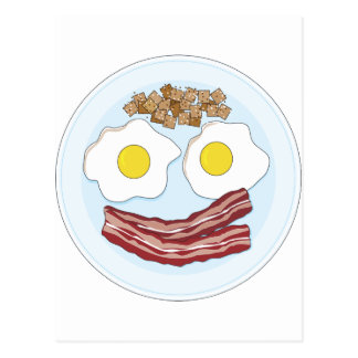 Bacon and Eggs Postcard