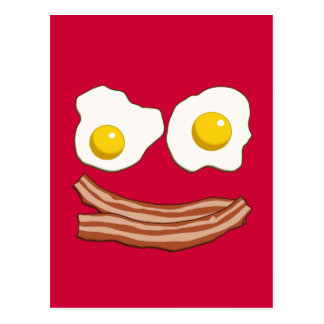 Bacon and Eggs Postcard
