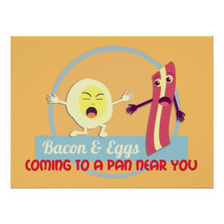 Bacon and Eggs Print