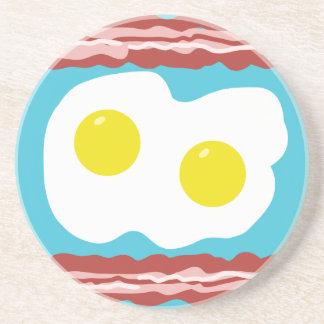 Bacon and Eggs Sandstone Coaster