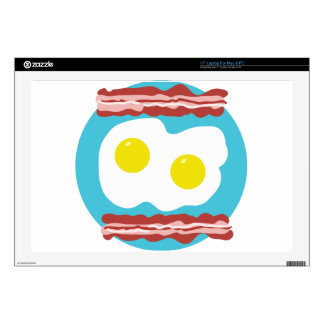 Bacon and Eggs Skin For Laptop