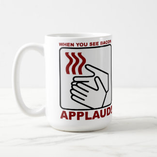 Bacon Applaud Mug