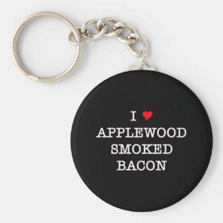 Bacon Applewood Smoked Keychain