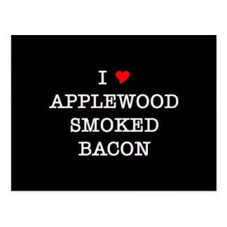 Bacon Applewood Smoked Postcard