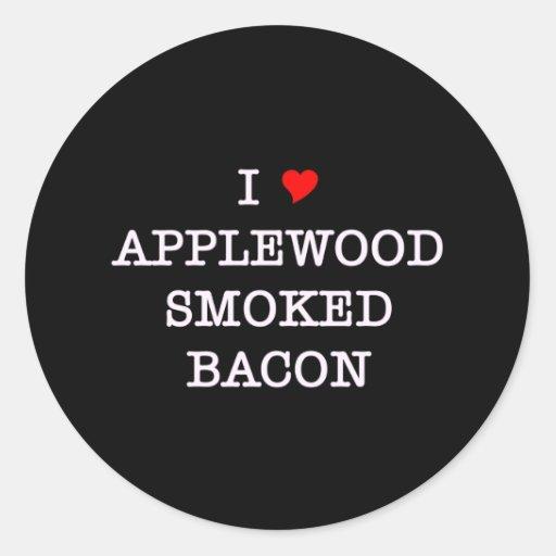 Bacon Applewood Smoked Sticker