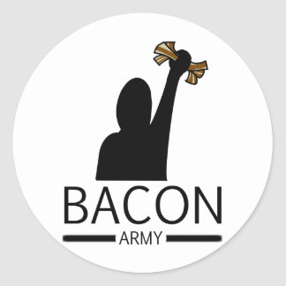 Bacon Army Stickers
