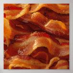 bacon = art poster
