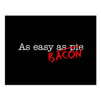 Bacon As Easy As Postcard