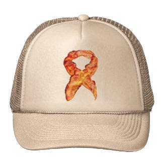 Bacon Awareness Ribbon Mesh Hat