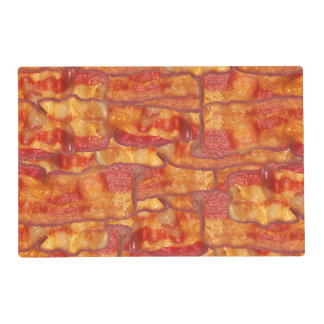Bacon Background Pattern Placemat