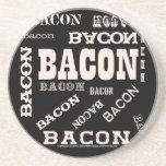 Bacon Bacon Bacon Beverage Coaster