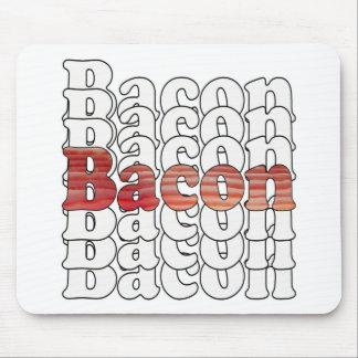 Bacon Bacon Bacon Mouse Pad