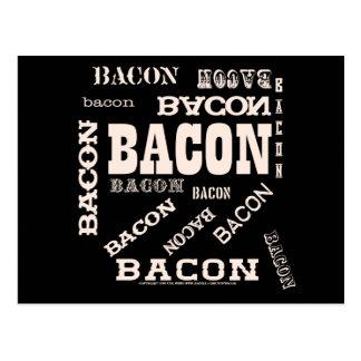 Bacon Bacon Bacon Postcard