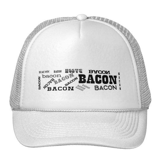 Bacon Bacon Bacon Trucker Hat