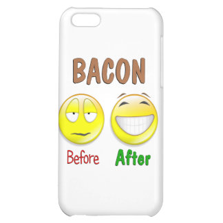 Bacon Before After Cover For iPhone 5C