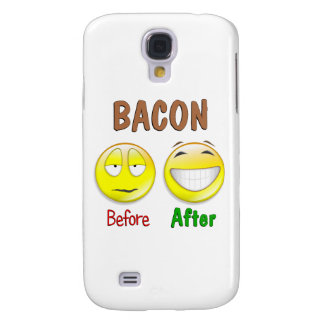 Bacon Before After Samsung Galaxy S4 Case